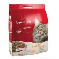 Bewi Cat Сrocinis 3-Mix / Сухой корм Беви Кэт Кросинис Микс 3 вида крокет для Привередливых кошек (Курица, Индейка, Рыба)