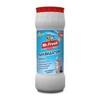 Mr.Fresh 2в1 / Порошок Мистер Фреш для кошек Ликвидатор пятен и запаха