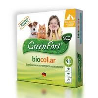 Green Fort Neo Biocollar / БиоОшейник Грин Форт Нео от Эктопаразитов для Кошек и Мелких собак