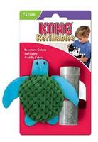 Kong / Игрушка Конг для кошек Черепашка с тубом кошачьей мяты