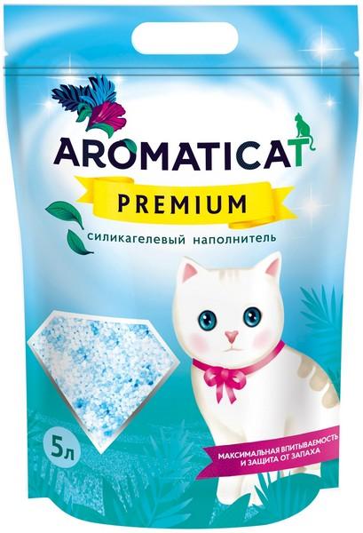 AromatiCat Premium / Наполнитель Ароматикэт для кошачьего туалета Силикагелевый