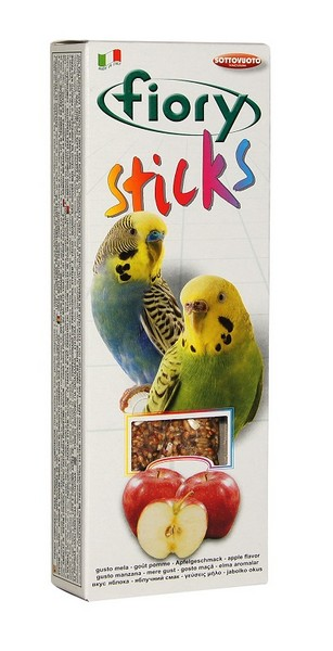 Fiory Sticks / Палочки Фиори для Попугаев с Яблоком