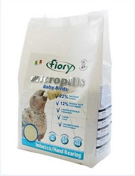 Fiory Micropills Baby Birds / Корм Фиори для Птенцов для Ручного вскрамливания