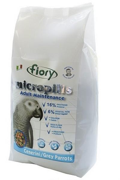 Fiory Micropills Grey Parrots / Корм Фиори для Серых Африканских попугаев