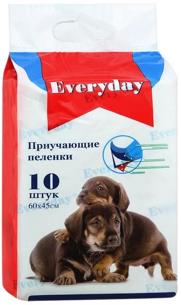 Everyday / Впитывающие пеленки для животных Гелевые 10 шт