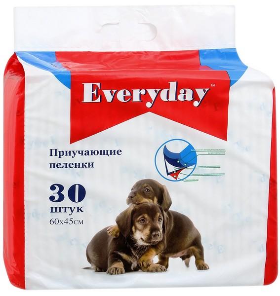 Everyday / Впитывающие пеленки для животных Гелевые 30 шт