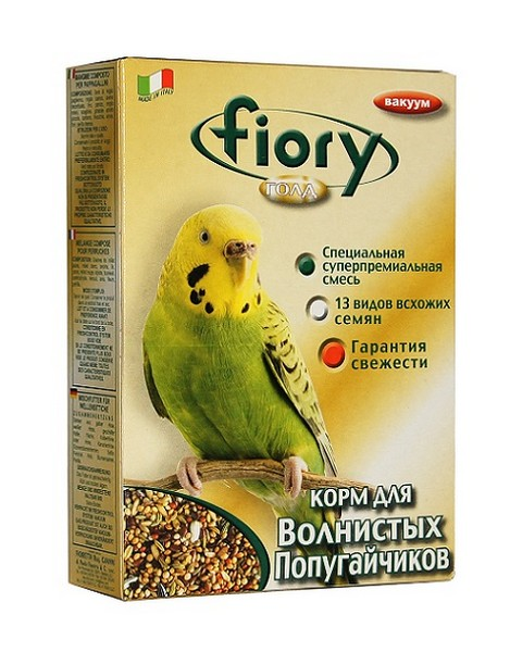 Fiory Oro Mix Cocory / Корм Фиори для Волнистых попугаев