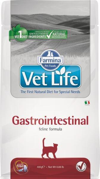 Farmina Vet Life Gastrointestinal / Лечебный корм Фармина для кошек при Нарушениях пищеварения