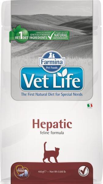 Farmina Vet Life Hepatic / Лечебный корм Фармина для кошек при хронической Печеночной недостаточности