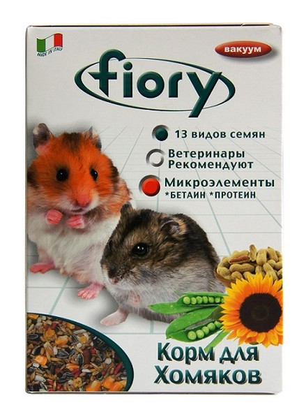 Fiory Criceti / Корм Фиори для Хомяков