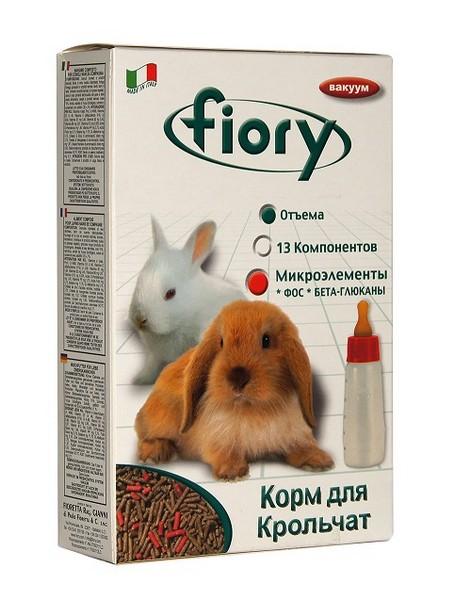Fiory Puppypellet / Корм Фиори для Крольчат Гранулированный
