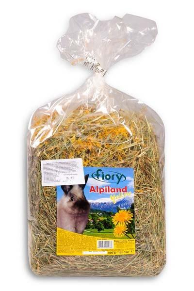Fiory Alpiland Yellow / Сено Фиори для грызунов Альпийское с Одуванчиком