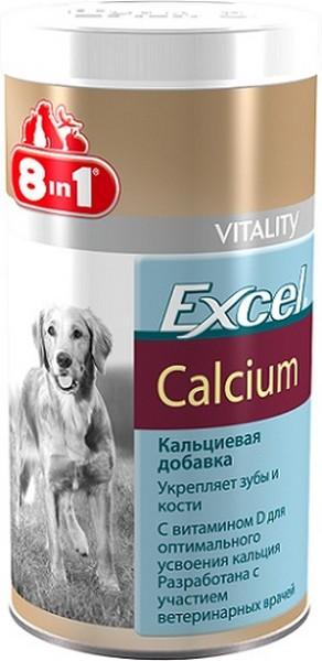 8in1 Excel Calcium / 8в1 Кальциевая добавка для собак Укрепляет зубы и кости