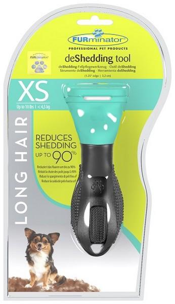 FURminator Long Hair Toy Dog / Фурминатор для Собак Карликовых Длинношерстных пород 3 см