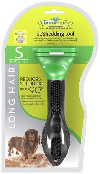 FURminator Long Hair Small Dog / Фурминатор для Собак Мелких Длинношерстных пород 4 см