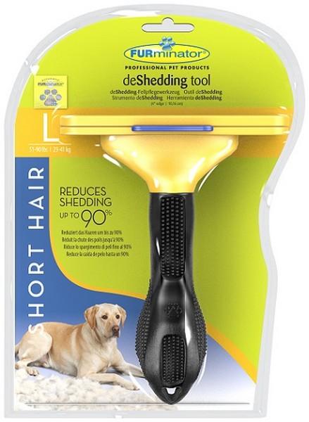 FURminator Short Hair Large Dog / Фурминатор для Собак Крупных Короткошерстных пород 10 см