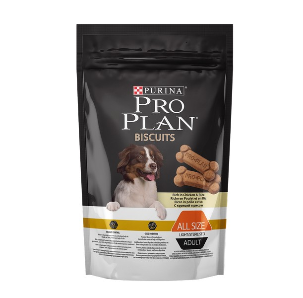 Purina Pro Plan Biscuits Chicken & Rice / Лакомство Пурина Про План Бисквиты Курица с Рисом