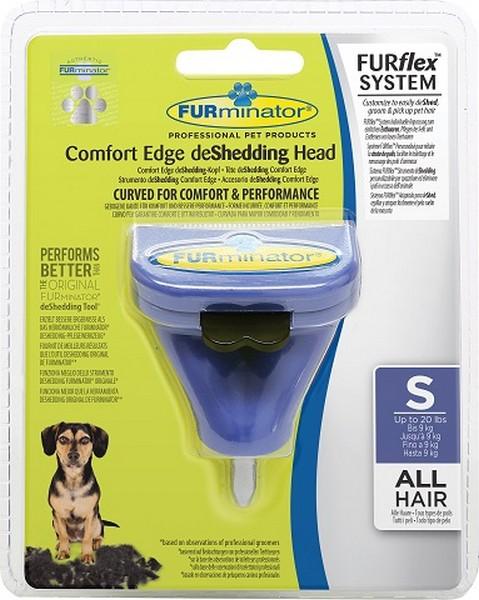 FURminator FURflex Comfort Edge deShedding Head Small Dog / Насадка Фурминатор Фурфлекс против Линьки для собак Мелких пород