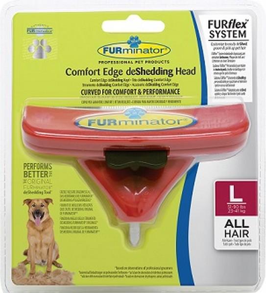 FURminator FURflex Comfort Edge deShedding Head Large Dog / Насадка Фурминатор Фурфлекс против Линьки для Больших собак