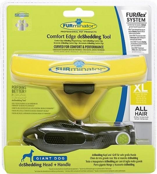 FURminator FURflex Comfort Edge Giant Dog / Комплект Фурминатор Фурфлекс против Линьки для собак Гигантских пород