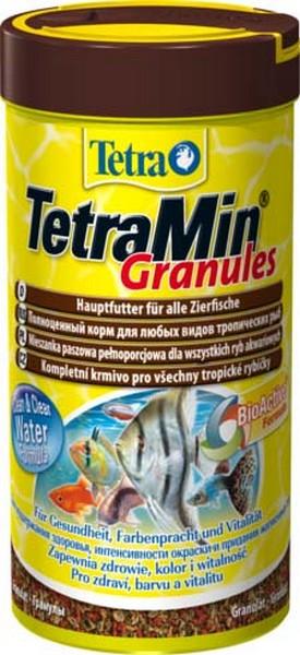 Tetra Min Granules / Корм Тетра для всех видов рыб в гранулах 250 мл