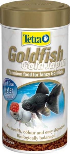 Tetra Goldfish Gold Japan премиум-/ Корм Тетра в шариках для селекционных золотых рыб 250 мл