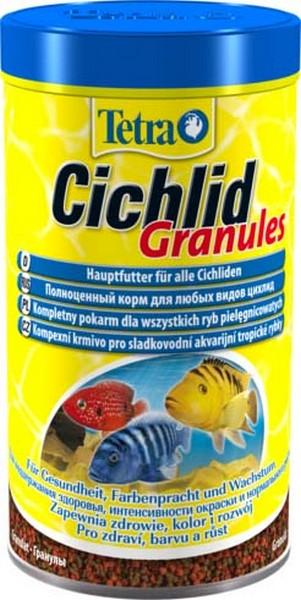 Tetra Cichlid Granules / Корм Тетра для всех видов цихлид в гранулах 500 мл