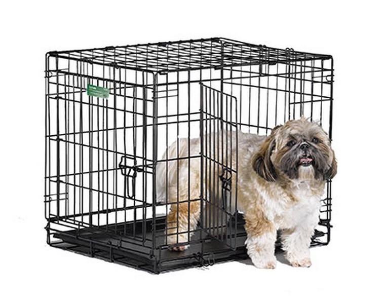 MidWest iCrate Double Door Dog Crate / Клетка Мидвест 2 двери Черная