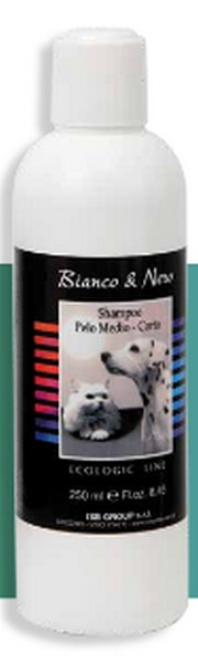 Iv San Bernard Black&White Shampoo Pelo Medio-Corto / Шампунь Ив Сан Бернард для Короткой и Средней шерсти