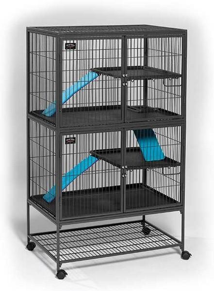 MidWest Ferret Nation Double Unit w/Stand / Клетка Мидвест для хорьков 2 этажа