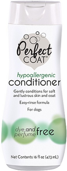 8in1 Perfect Coat Hypoallergenic Conditioner / 8в1 Кондиционер-ополаскиватель для собак гипоаллергенный