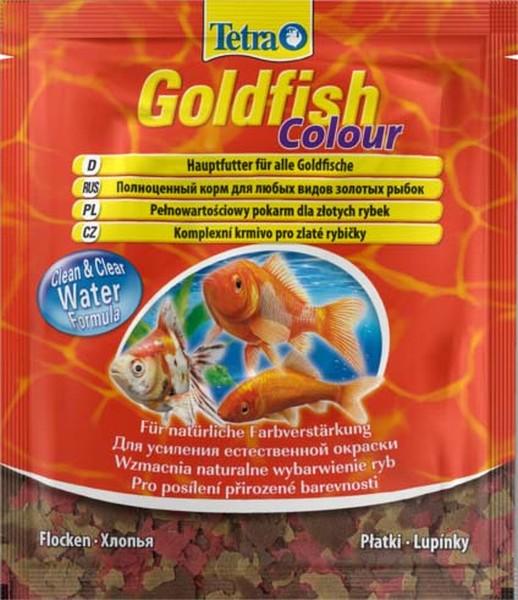 Tetra Goldfish Colour / Корм Тетра в хлопьях для улучшения окраса золотых рыб