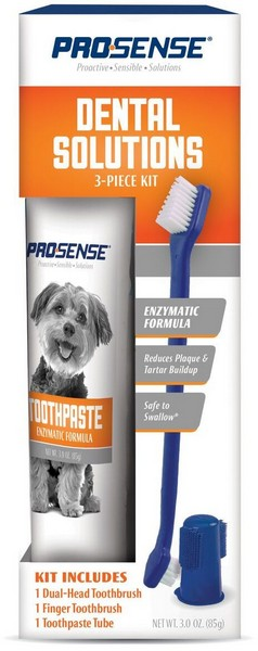 8in1 Pro-Sense Dental Solutions Kit / 8в1 Набор для Ухода за зубами для собак 3 предмета