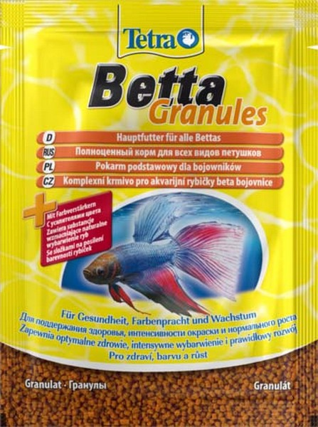 Tetra Betta Granules / Корм Тетра для рыб в гранулах