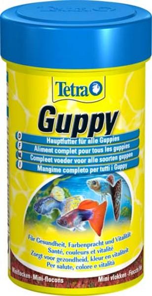 Tetra Guppy / Корм Тетра в хлопьях для гуппи 100 мл