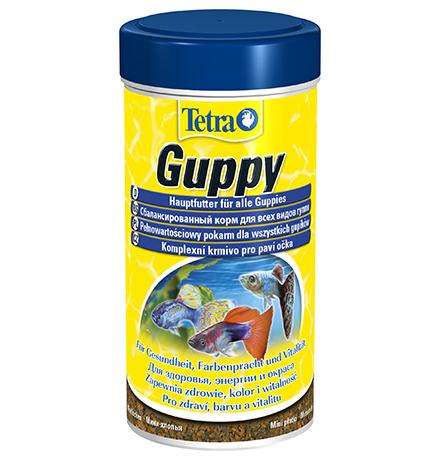Tetra Guppy / Корм Тетра в хлопьях для гуппи 250 мл