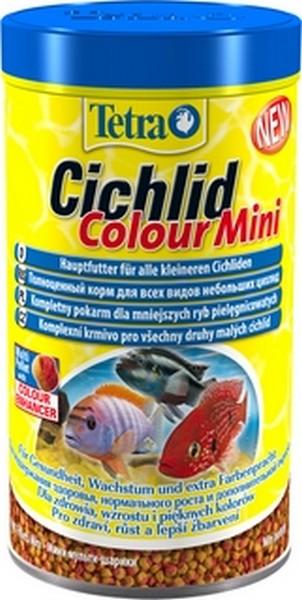 Tetra Cichlid Colour Mini / Корм Тетра для всех видов цихлид для улучшения окраса 500 мл