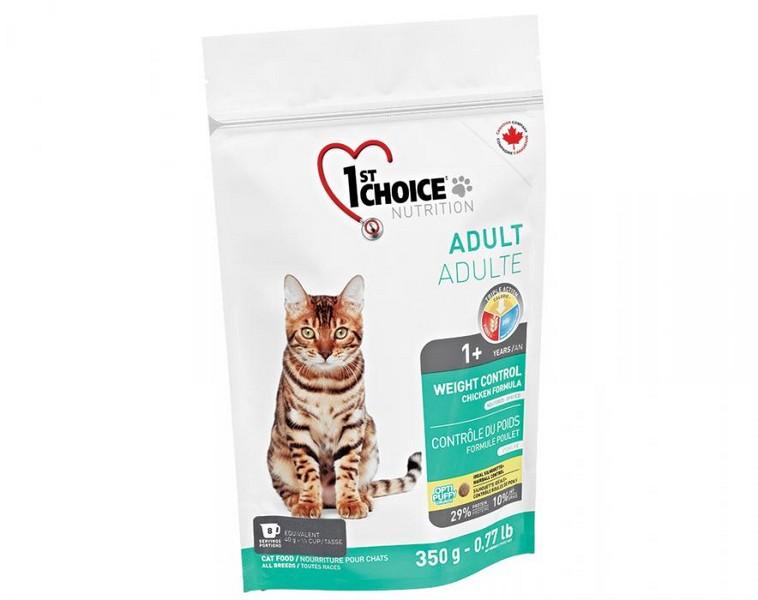 1st Choice Weight Control / Сухой корм Фёст Чойс Контроль Веса для Кастрированных котов и Стерилизованных кошек