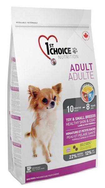 1st Choice Adult Toy&Small Breeds / Сухой корм Фёст Чойс для собак Декоративных пород Ягненок Рыба Рис