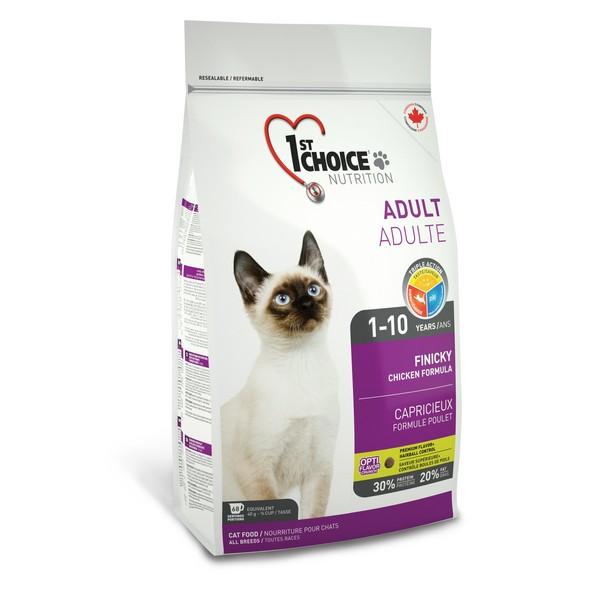 1st Choice Finicky / Сухой корм Фёст Чойс для Привередливых кошек Цыпленок