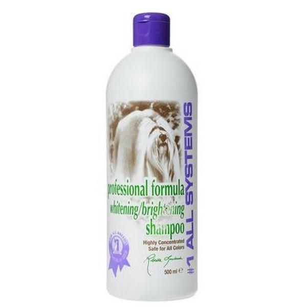 1 All Systems Whitening Shampoo шампунь отбеливающий для яркости окраса 500 мл