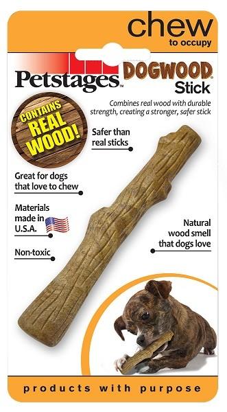 Petstages Dogwood / Игрушка Петстейджес для собак Палочка деревянная