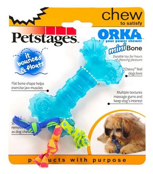 Petstages Mini Orka / Игрушка Петстейджес для собак Косточка