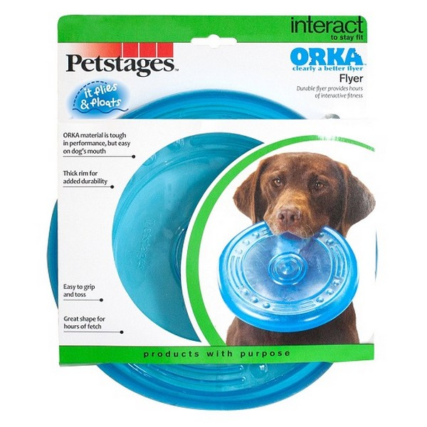 Petstages Orka / Игрушка Петстейджес для собак Летающая тарелка