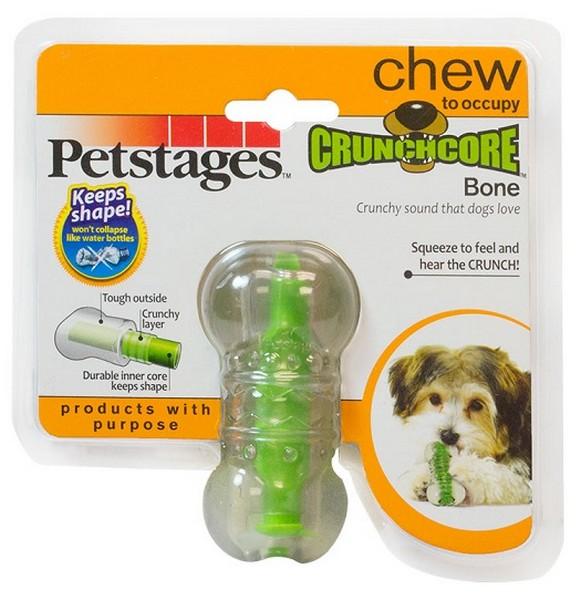 Petstages / Игрушка Петстейджес для собак Хрустящая косточка Резиновая