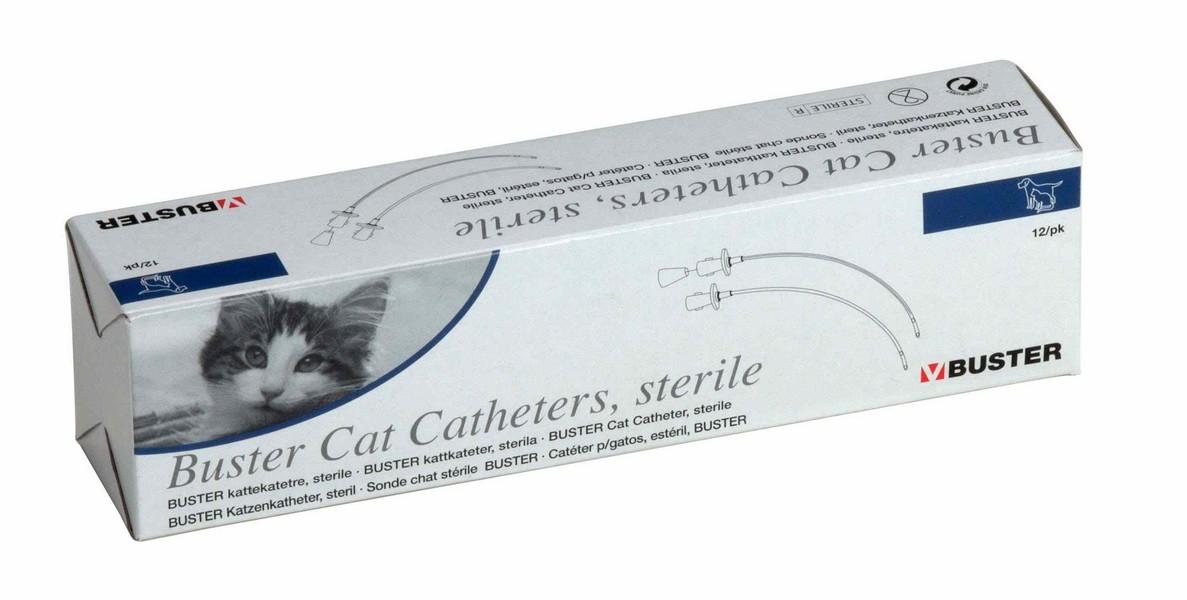 Kruuse катетер стерильный для кошек 1,3х130 мм 4FG