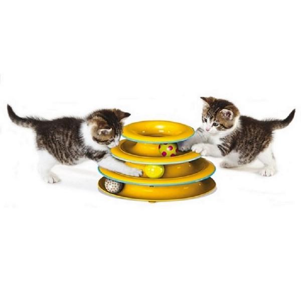 Petstages / Игрушка Петстейджес для кошек Трек 3 этажа