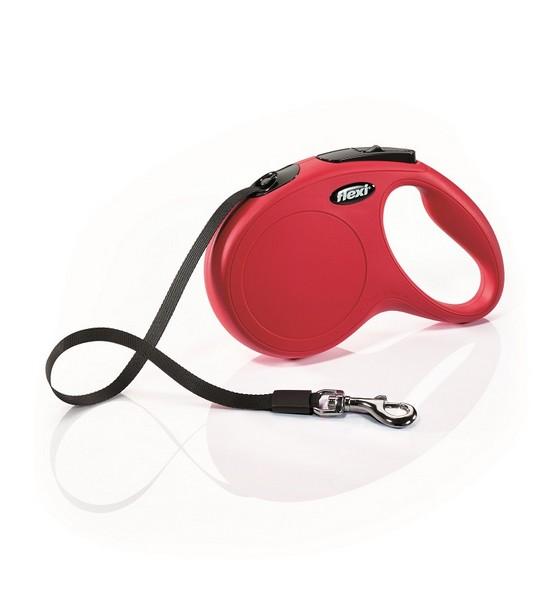 Flexi New Classic M / Флекси рулетка для собак весом до 25 кг Лента 5 м