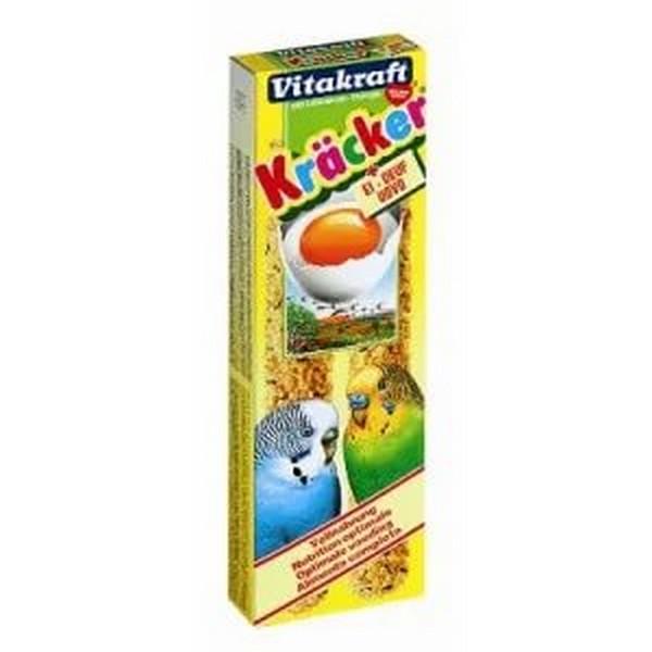 Vitakraft / Крекеры Витакрафт для Молодых Волнистых попугаев Яичные