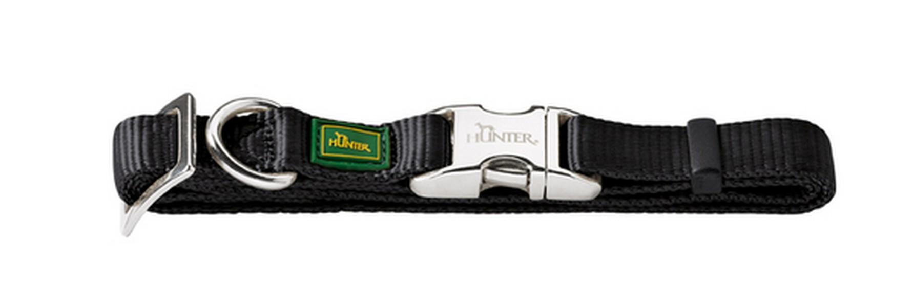 Hunter Alu-Strong ошейник для собак нейлон с металлической застежкой размер S (30-45 см)
